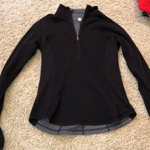 Black And Grey Reversible pullover